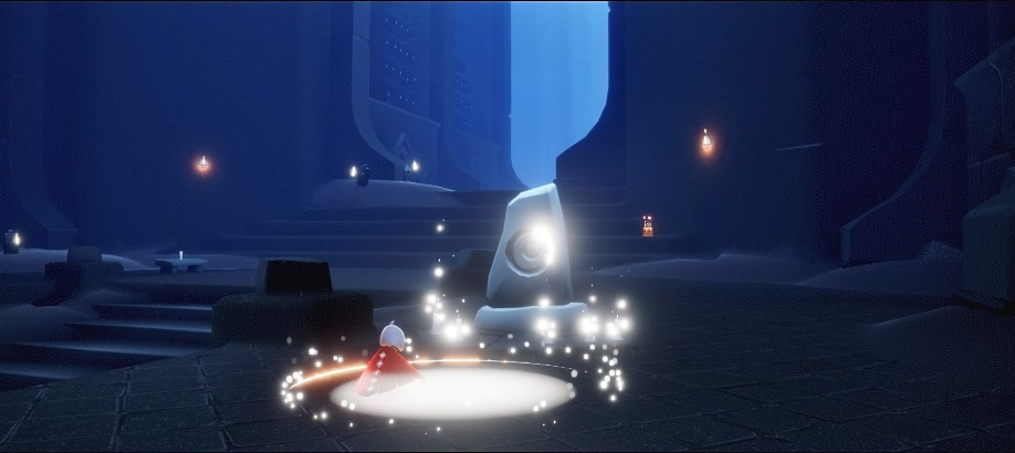 マンタの精霊とともに瞑想する