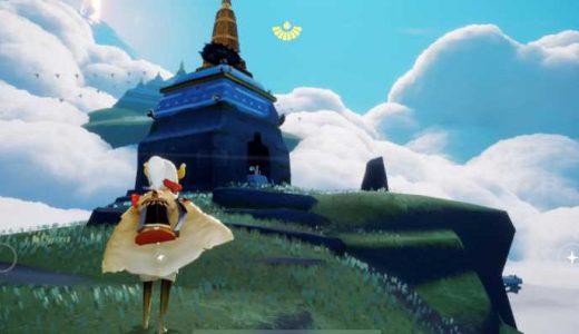 草原の妖精のリングで瞑想