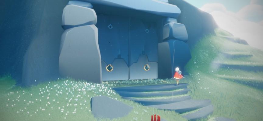 2人プレイヤー用の扉を開く