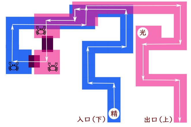 イベント精霊マップ