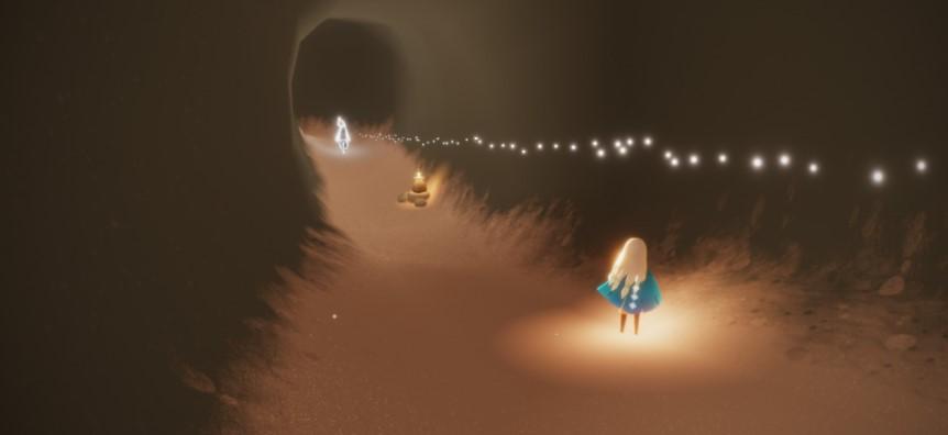 リズムが弾ける季節の峡谷の精霊