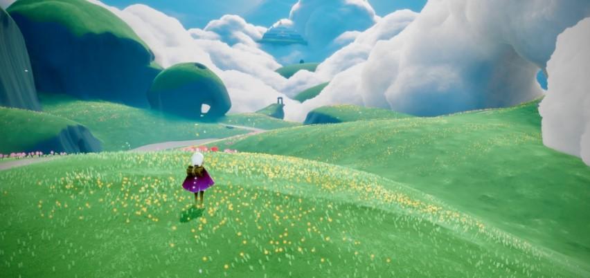 草原のシーズンキャンドル