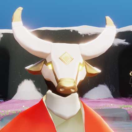 来福の日々を祝うマスク