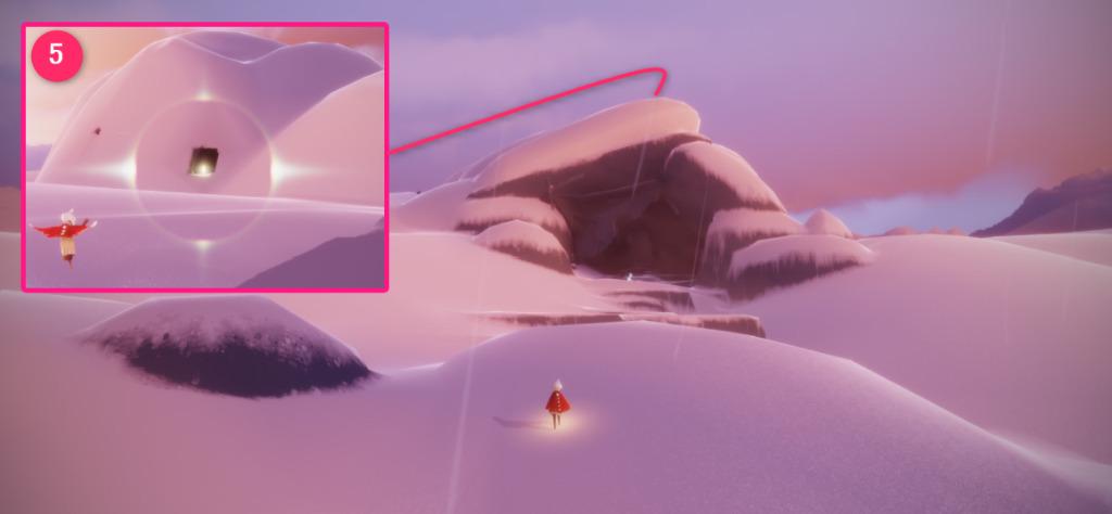 隠者の峠の光の翼