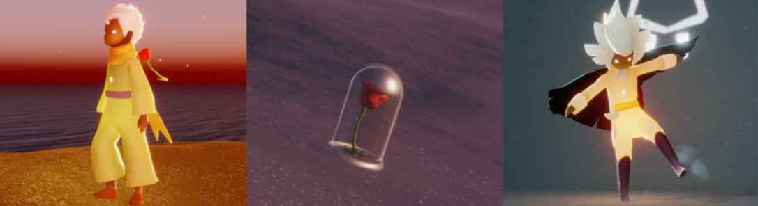 バラから入手できるアイテムの一覧