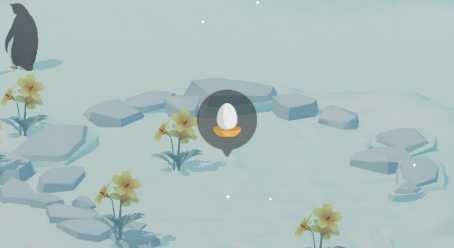 クジラ 島 ペンギン 巣 の の