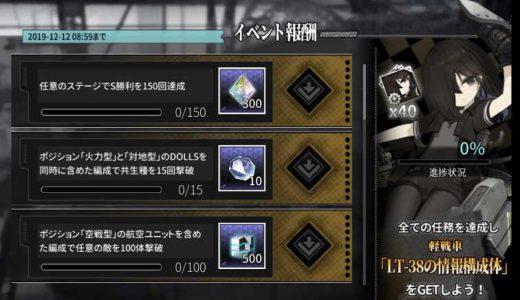 【アッシュアームズ】LT-38獲得イベントの情報まとめ